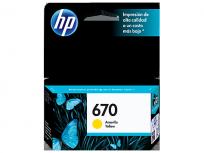Cartucho Hewlett Packard 670 (CZ116AL) Amarillo 3,5 Ml. P/Deskjet 3525/4615/4625/5525 Cod. Ci-Hp-Z11600