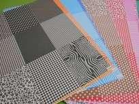 Cartulina Decorada Pinguino 50 X 70 120 Grs. Paq. X 10 Unid. Mix Magenta/Rosa Cod. 211122