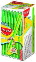 Boligrafo Maped Essentials Green Ice Verde x 50 Unid. Cod. 224433Ne