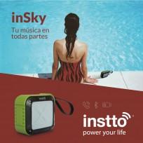 Parlante Instto Insky Resistente A Salpicaduras Cod. Bs-In-Bs7800