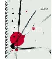 Cuaderno Essential 29.7 Con Espiral Tapa PP Cristal x 84 Hjs. Cuadriculado Cod. 100845