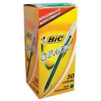 Boligrafo Bic 1 Mm. Opaco Verde x 50 Unid. Cod. 1104697