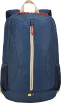 "Mochila Case Logic Porta Notebook De 15,6"", Color Azul Cod. Mc-Cl-Bira15"