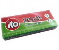 Regla Ito Cristal x 15 Cms. Cod. 12901215001