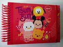 Agenda Perpetua  Ppr Solutions Premium 18,5X 13,5 Tsum Tsum  Espiralada Cod. Lagepmtsum/2