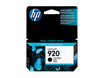 Cartucho Hewlett Packard 920 (CD971AL) Negro 11 Ml. P/Officejet 6000/6500 Cod. Ci-Hp-971A00