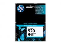 Cartucho Hewlett Packard 920 (CD971AL) Negro 11 Ml. P/Officejet 6000/6500 Cod. Ci-Hp-971A00