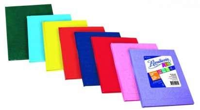 Cuaderno Rivadavia ABC 19 x 23 Tapa Carton Araña Celeste x 50 Hjs. Rayado Cod.  353911