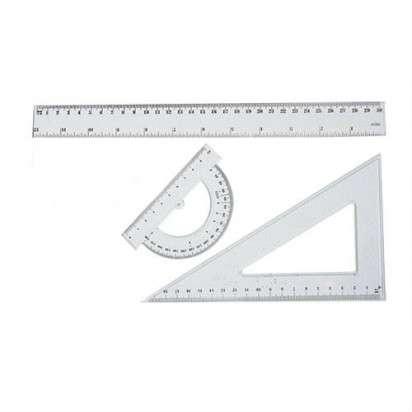Juego Geometrico Escuelita 3 Piezas  x 20 Cms. 1/2 Bulto - 50 Unid. Cod. Jg3P/B
