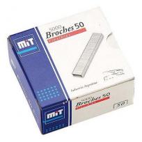 Broche Mit Para Abrochadora 50 x 5000 Unid. Cod. 73