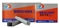 Broche Ezco Para Abrochadora 23/10 x 1000 Unid. Cod. 304004