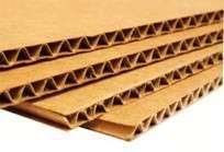 Carton Corrugado Kraft Hl Placa 70X100 Cm (2 Caras Marron)Paq. X5 Unid. Cod. Mic100