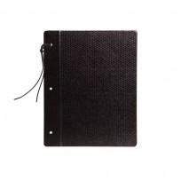 Carpeta Rab Fibra Negra Nro. 3 Con Cordon Cod. 3066/3
