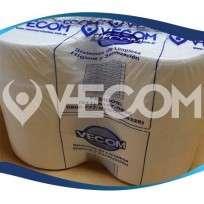 Papel Higienico Vecom Blanco Ecologico Rollo X 500 Mts. Bolsa x 8 unid. Cod.Aa 0009