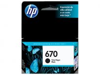 Cartucho Hewlett Packard 670 (CZ113AL) Negro 7,5 Ml. P/Deskjet 3525/4615/4625/5525 Cod. Ci-Hp-Z11300
