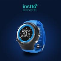 Reloj Instto Gps Insport 3 Azul Cod. Sw-In-B85B00