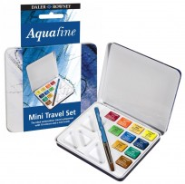 Acuarela Daley-Rowney Aquafine Lata 10 Colores Cod.131900910