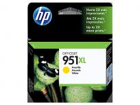 Cartucho Hewlett Packard 951 XL (CN048AL) Amarillo Alto Rendimiento 53 Ml. P/Officejet Pro 8100/Officejet Pro 8600 Cod. Ci-Hp-048A00