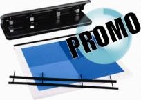 Encuadernadora Velobind Combo Para 200 Hojas + 25 Tapas + 25 Strips Cod. 8505050