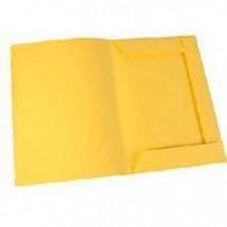Carpeta Osi-Pel Cartulina 3 Solapas Oficio 170 Grs. Amarillo x 50 Unid. Cod. 525