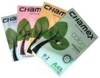 Resma Chamex Colors A4 21 X 29,7 Cms 75 Grs. Verde X 500 Hjs.  Cod. Rca475-Ve