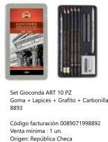 Lapices De Colores Koh-I-Noor Gioconda Set x 10 Unid. Cod. 089071998893