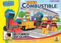 Juego Implas Bloques Y Construccion Estacion De Combustible Cod.158