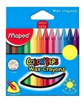Crayon Maped Color Peps x 12 Unid. Cod. 861011