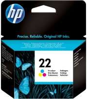 Cartucho Hewlett Packard  22 (C9352AL) Tricolor 6 Ml. P/Deskjet 3910/3920/3930/3940/Multifuncion 1410 Cod. Ci-Hp-935200