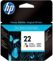 Cartucho Hewlett Packard  22 (C9352AL) Tricolor 6 Ml. P/Deskjet 3910/3920/3930/3940/Multifuncion 1410 Cod. Ci-Hp-935200