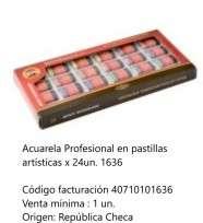 Acuarela Koh-I-Noor Profesional x 24 Pastillas Cod. 40710101636