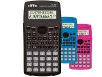 Calculadora Cifra Cientifica SC  820 Color Negro Cod. Sc-820