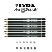 Lapiz Grafito Lyra Rembrandt Art-Design 4B Cod. 1110104