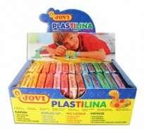 Plastilina Jovi Pan  50 Grs. Surtido Estuche x 30 Unid. Cod. 12000715103