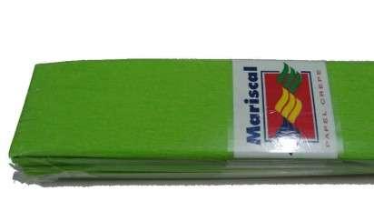 Papel Crepe Mariscal Verde Claro Paq. x 10 Planchas Cod. Cr/10/14