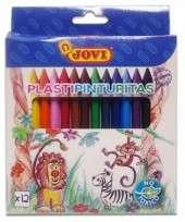 Plastipinturita Jovi x 12 Cortos Blister Cod. 13