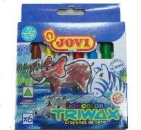 Crayon Jovi Trimax Triangular x  6 Unid. Cod. 04200705906