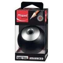 Sacapuntas Maped Advance Metal Para Oficina 1 Orificio Con Deposito Cod. 67510