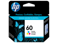 Cartucho Hewlett Packard  60 (CC643WL) Tricolor 6,5 Ml. P/F4280 Cod. Ci-Hp-643W00