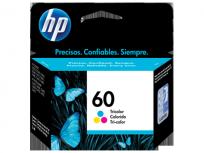 Cartucho Hewlett Packard  60 (CC643WL) Tricolor 6,5 Ml. P/F4280 Cod. Ci-Hp-643W00