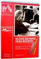 Block Caran Dache Pablo 35 x 50 Con Espiral 180 Grs. x 30 Hjs. Cod. 17402501150
