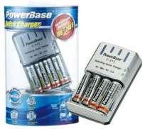 Cargador Powerbase C513 + 4 Pilas AA Recargables Cod. Ca-Rp-Bc513I