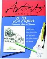 Block Le Papier Artist A4 Emblocado 110 Grs. x 40 Hjs. Cod. 17410001001