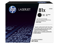 Toner Hewlett Packard  81X (CF281X) Negro P/Laserjet M630/M605N/M605Dn/M605X/M606Dn/M606X Cod. To-Hp-281X00