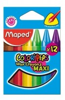 Crayon Maped Color Peps Maxi x 12 Unid. Cod. 861311