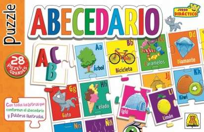 Juego Didactico Y Educativo Implas Abecedario Puzzle Cod.312