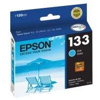 Cartucho Epson T133220 Cyan 5 Ml. P/T22-25/Tx120-123-125-420W-450W Cod. Ci-Ep-133200