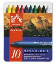 Crayon Caran Dache Neocolor x 10 Unid. Lata 7000-310 Cod. 05502501810