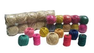 Hilo Algodon Color Rosa Ovillo Nro. 3 (40 Grs./40 Mts.) 4 Hebras.Especial Para Atar Globos .Bolsa X 10 Unid. Cod. Ha40Rsa