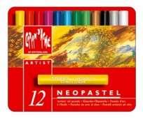 Crayon Caran Dache Neopastel  x 12 Unid. Carton/Lata 7400-312 Cod. 05502503812